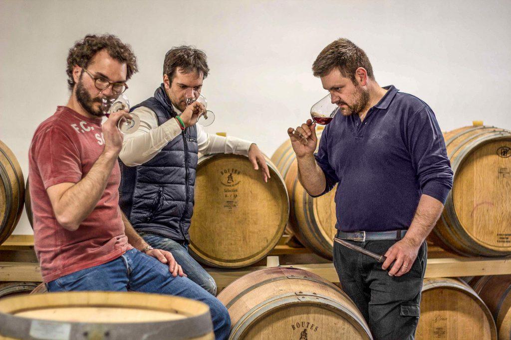 Raineri - Vini - team - cellar